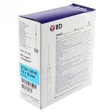 Catheters, Insyte™ Autoguard™ 22 G x 1 Inch, Straight, BD# 381423