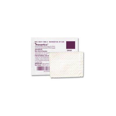 Prep Pad Chlorascrub Chlorhexidine Gluconate, 3.15% / Isopropyl Alcohol, 70% Peel Pouch 3-1/8 X 1-1/8 Inch # B10800