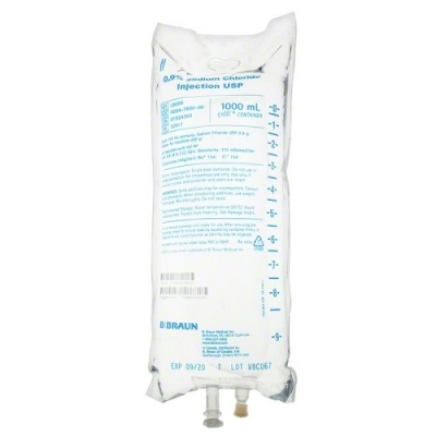 0.9% Sodium Chloride Injection USP, 1000mL * EACH *