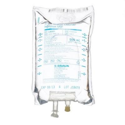 0.9% Sodium Chloride Injection USP, 500mL * EACH *