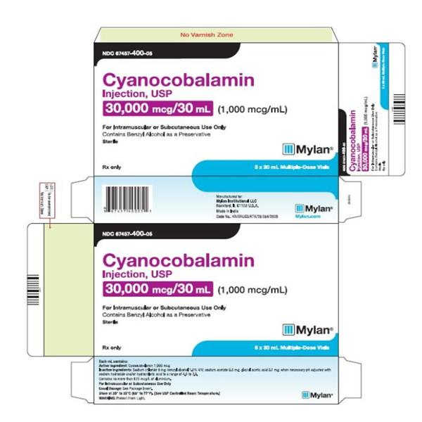 Cyanocobalamin 1000MCG / ML MDV 30mL – COBAL 1000 – PACK OF 5