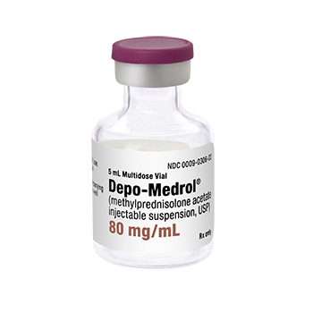Depo-Medrol® Methylprednisolone Acetate 80 mg / mL Injection Vial 5 mL