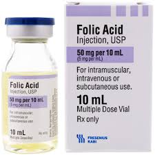 Folic Acid 5mg/mL 10mL