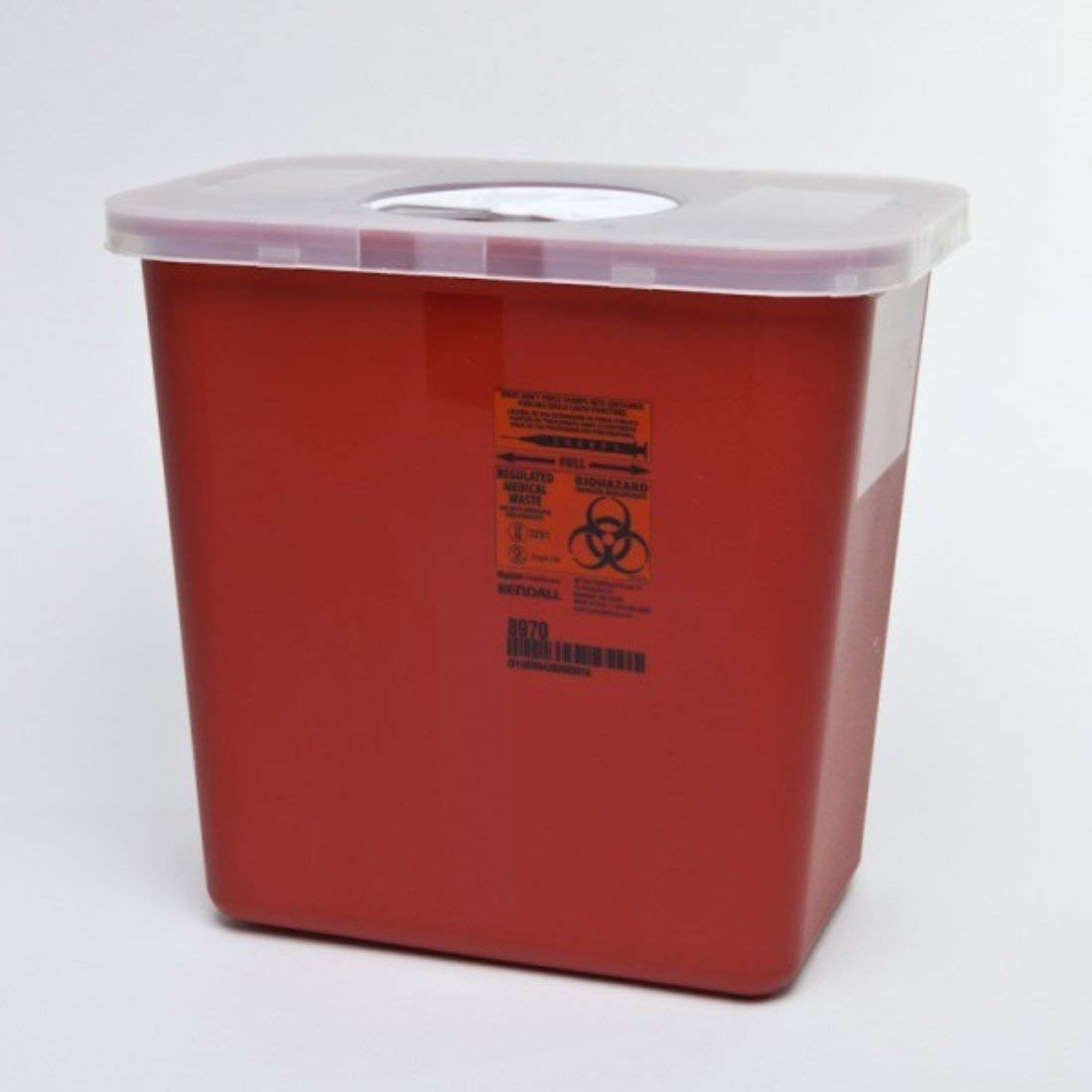 Sharps Container 2 Gallon Red 8970