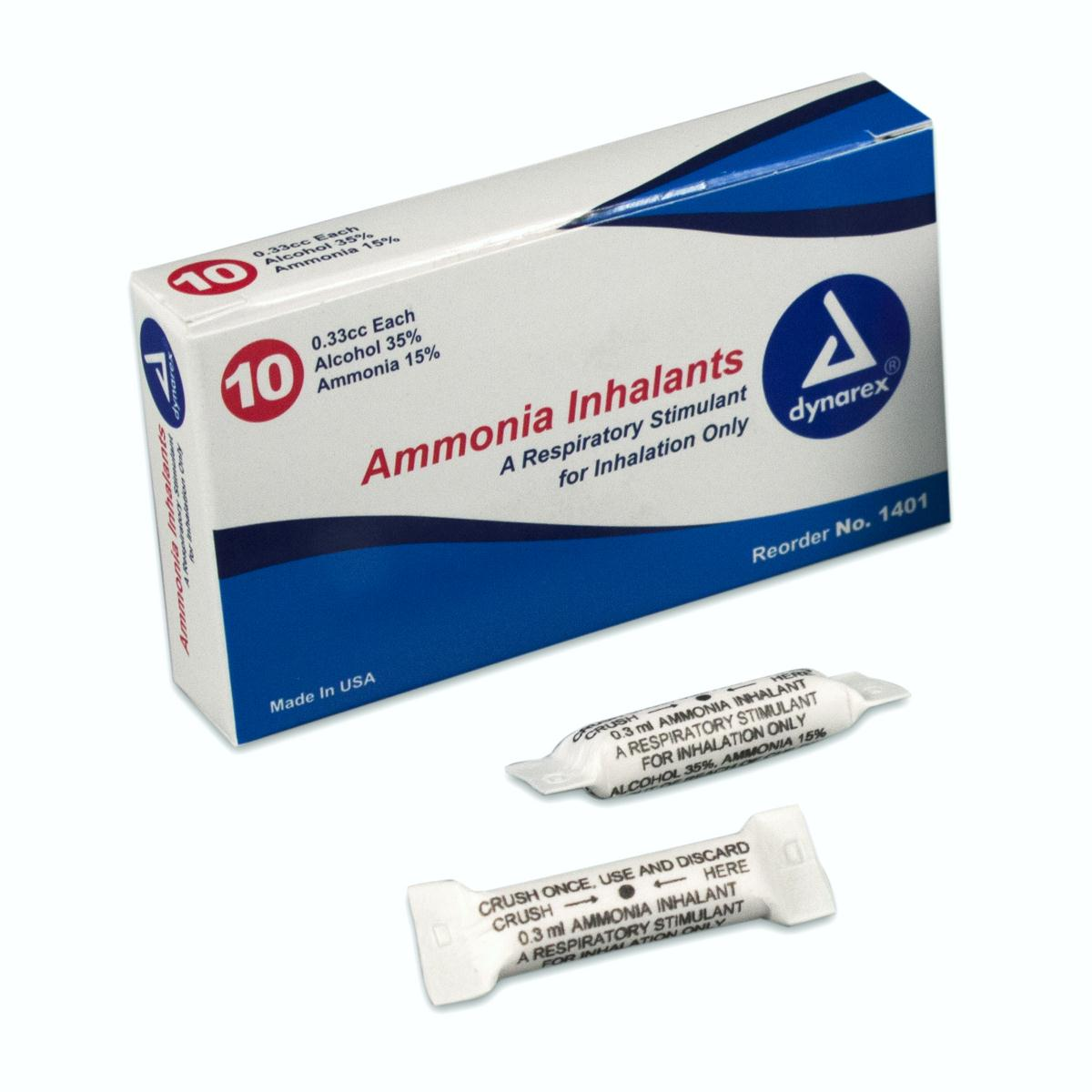 Ammonia Inhalant 10 Per Box