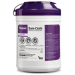Super Sani-Cloth® Germicidal Disposable Wipe